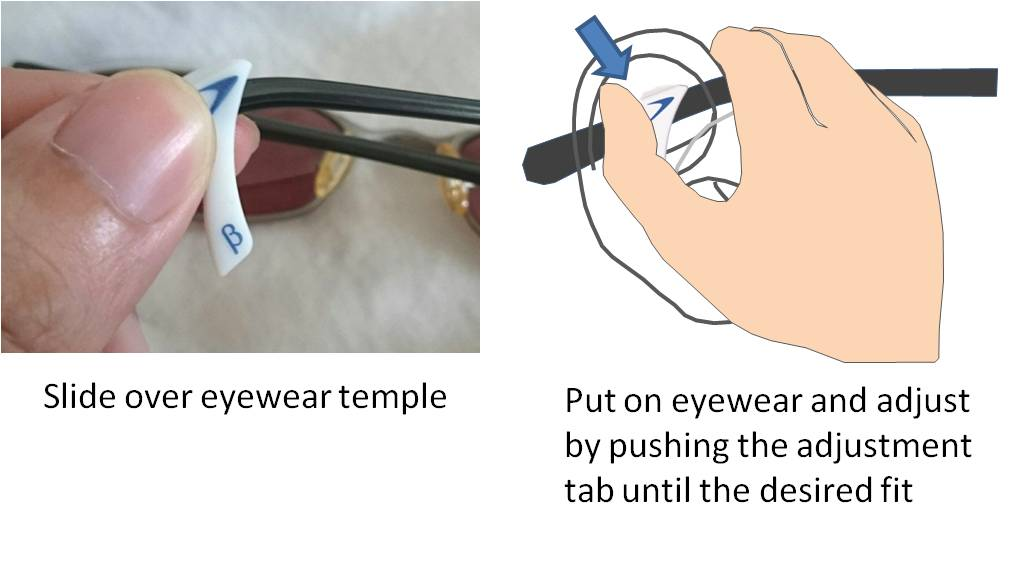 spectacle temple tip